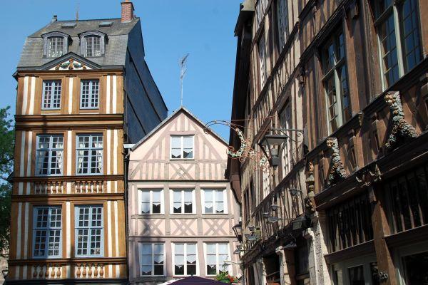 2016_Evreux_Fachwerkhäuser_Rouen