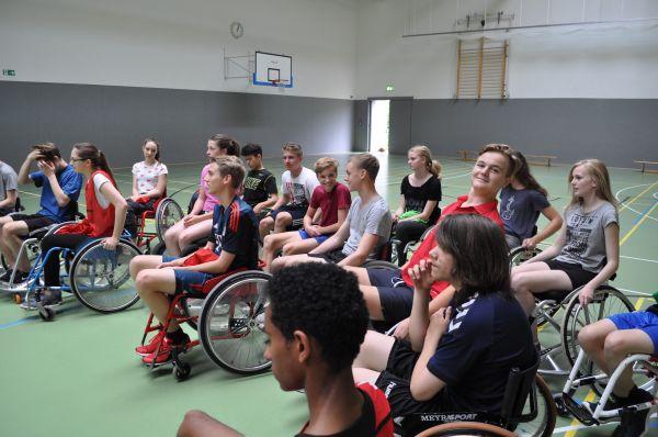 9d Rollstuhlprojekt - Auswertung