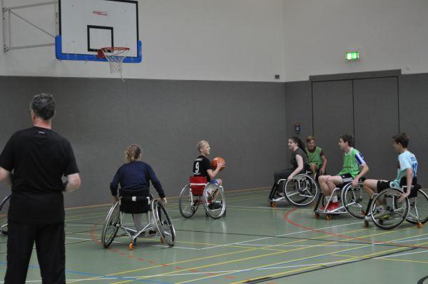 9d Rollstuhlprojekt - Basketball