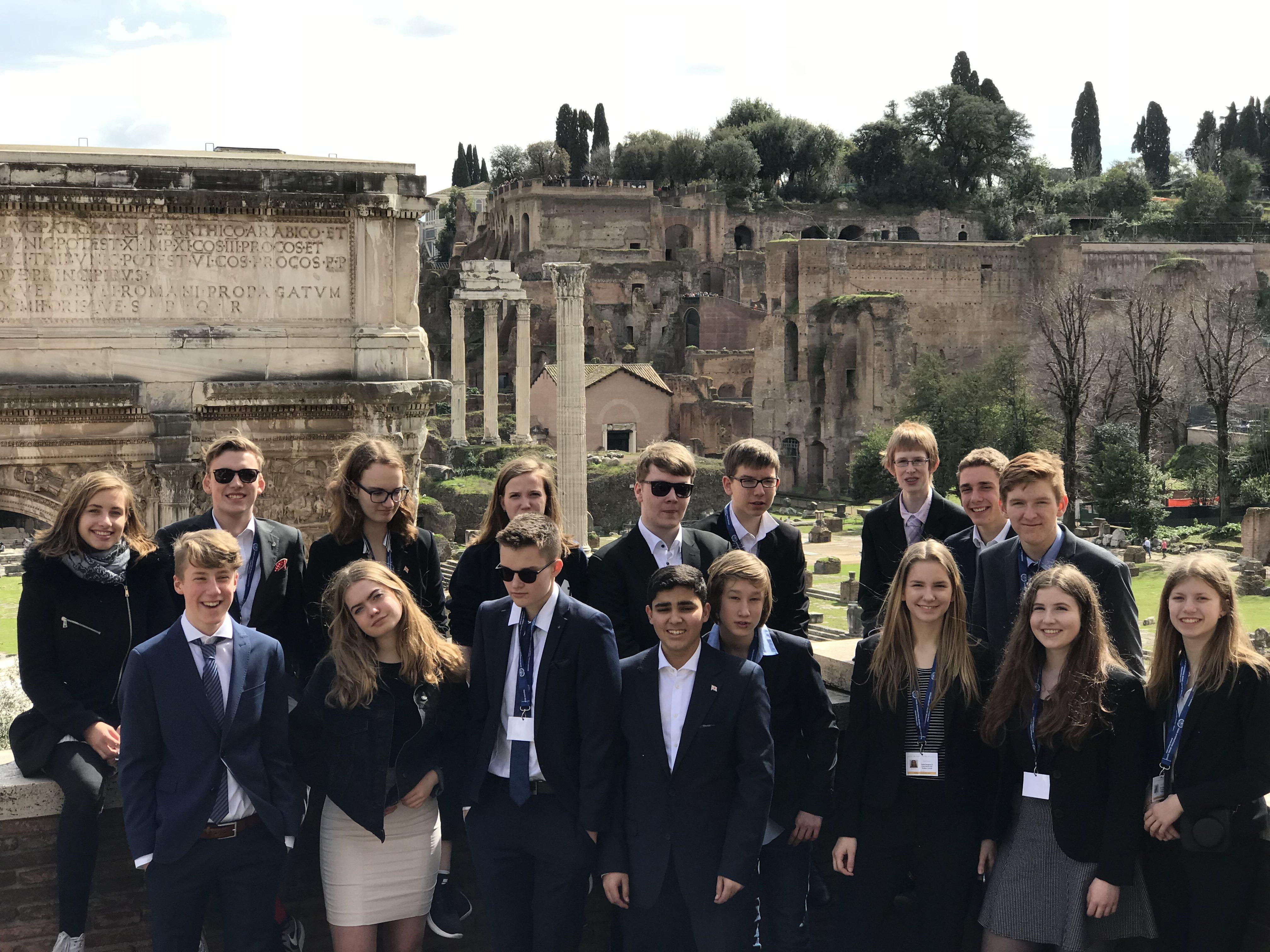 fahrt fiumicino nach rom